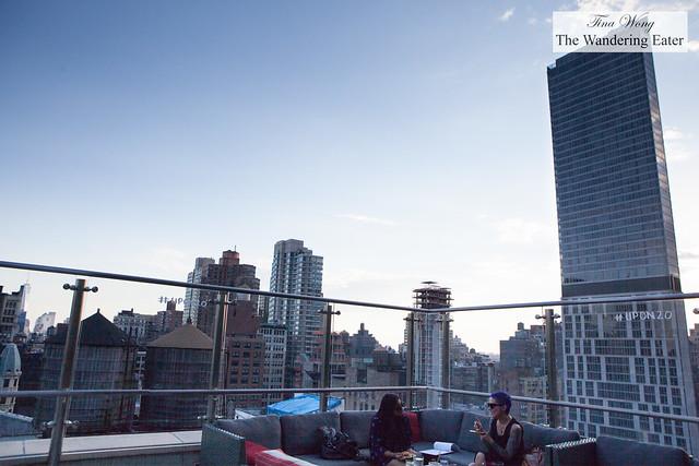 View of southwest Manhattan