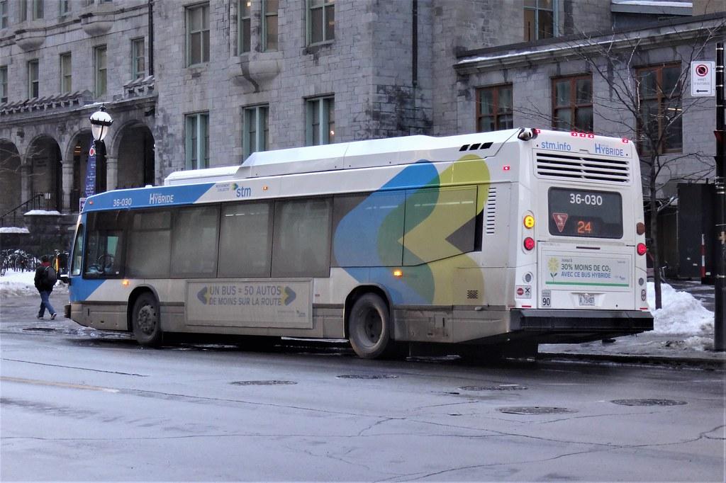 STM Nova Bus LFS HEV 36-030