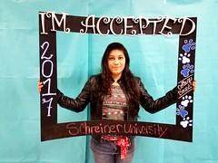 Congratulations to Trianna Torres who got accepted to Schreiner University in Kerrville, Texas! #CollegeBound #CollegeBoundBulldogs #Somerset2017