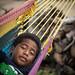 Boy in a hammock, Savusavu, Fiji