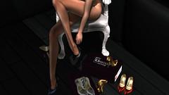 Heidi- mesh shoes