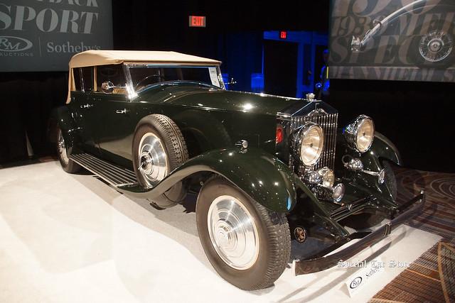 1933 Rolls-Royce Phantom II All-Weather Tourer by Hooper