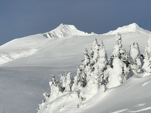 hudsonbaymountain snow winter mountain