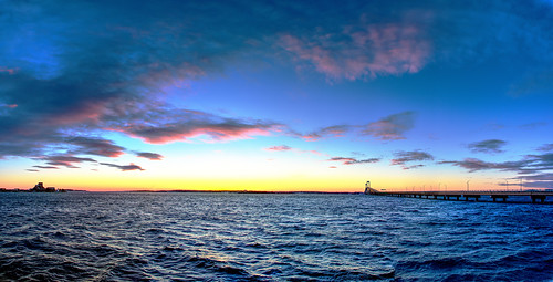 narragansett newport rhodeisland landscape sunset panorama
