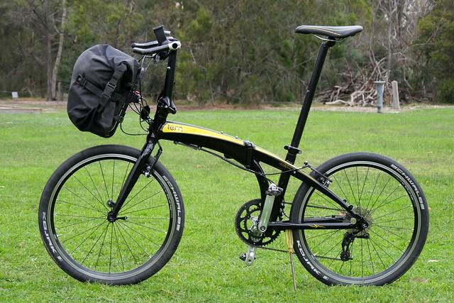 Tern Kanga Rack + Ortlieb Backroller Pannier