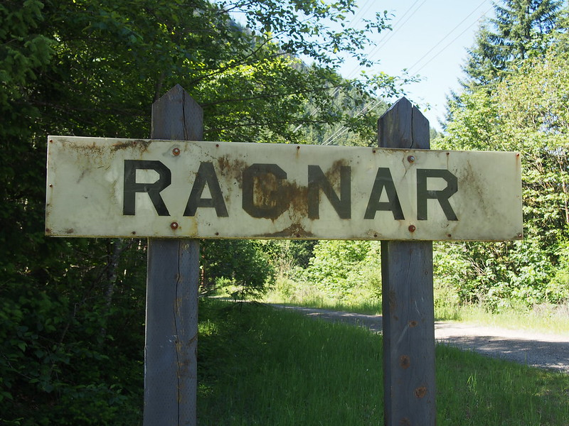 Ragnar Sign: Not much but rusted-out junk