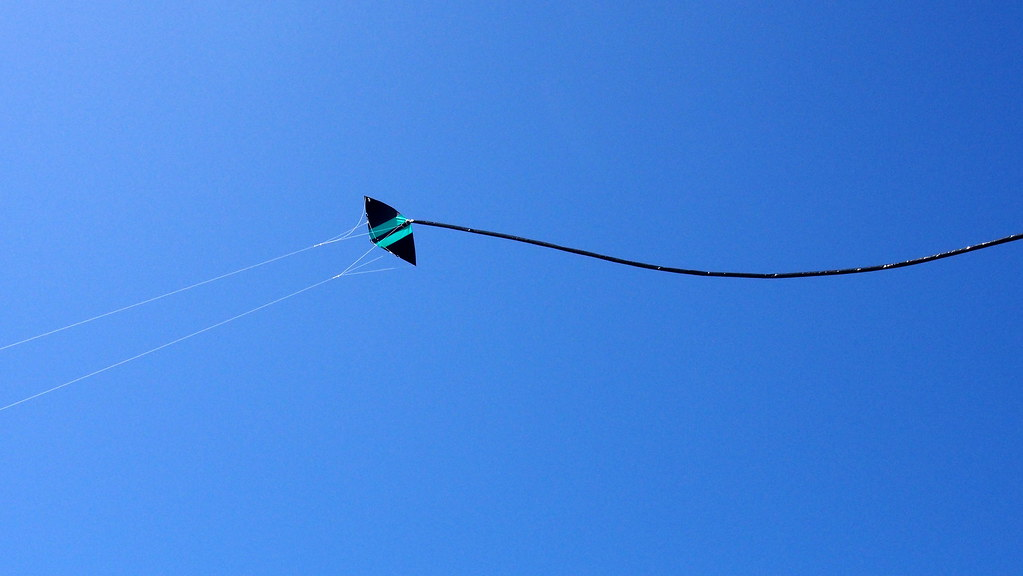 Kite flying, Tiree
