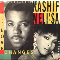 KASHIF & MELI'SA MANCHESTER:LOVE CHANGES(JACKET A)