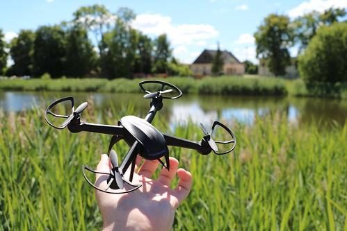 Pigus Mini Quadcopteris su HD 808 Keychain Spy kamera