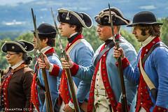 Re-enactors at Saratoga Battlefield