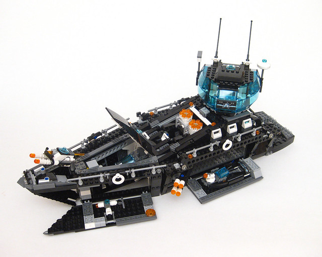 Review: 70173 Ultra Agents Ocean HQ | Brickset: LEGO set guide and ...