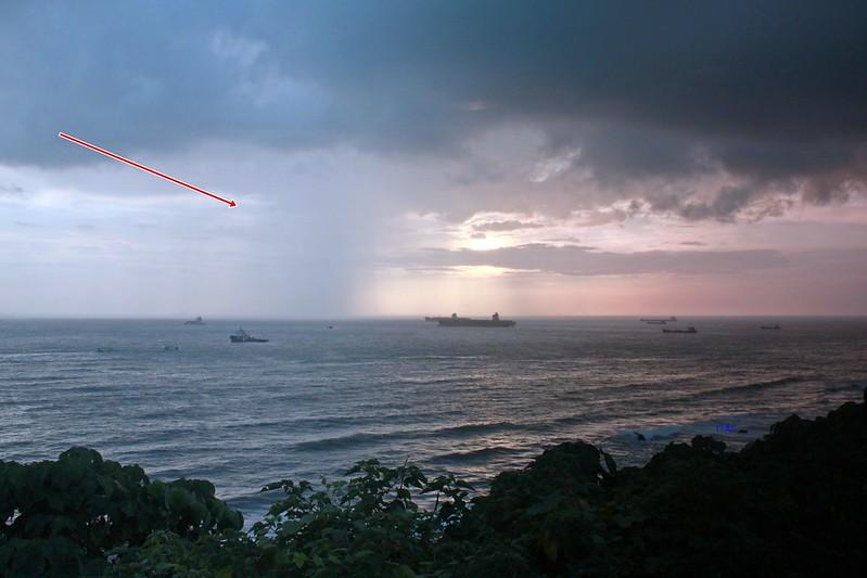 環島-西子灣-夕陽與猴子共舞 (23)