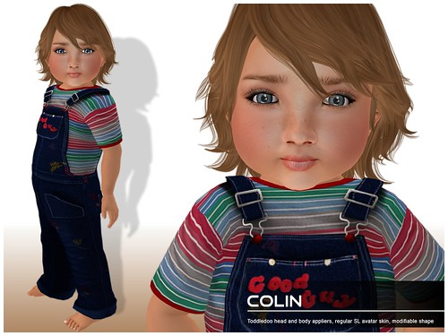 Deluxe Body Factory - Colin skin Toddleedoo baby boy