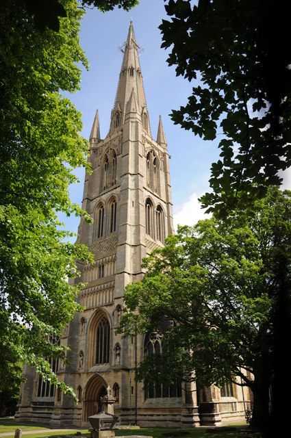 Grantham, St Wulfram's Church (c) Phillip Halling
