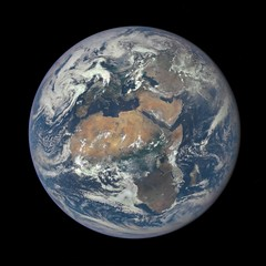 'EPIC' View of Africa and Europe from a Million Miles Away
