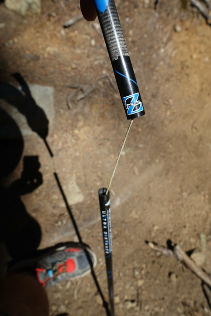 Broken trekking pole :-(