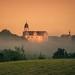 Schloss Rochsburg im aufsteigendem Nebel by L.u.n.e.x.