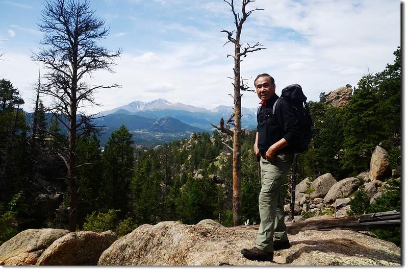 Taken from Lumpy Ridge Trail viewpoint 2