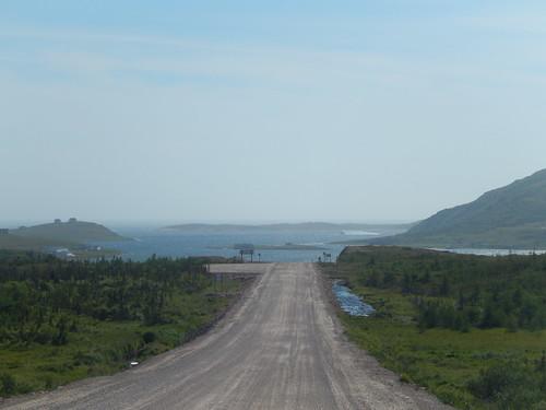 Labrador Highway - terug in Red Bay - ijsberg