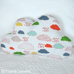 DIY Cloud shaped cushion