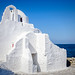Church of Panagia Paraportiani by Kevin R Thornton