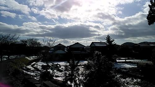 Hiyoshi shrine in west Echizen city along the Yoshino River