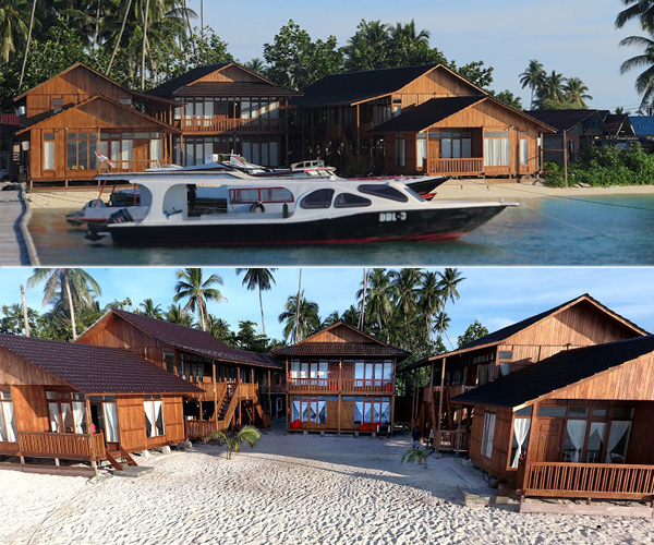 Derawan dive lodge 1