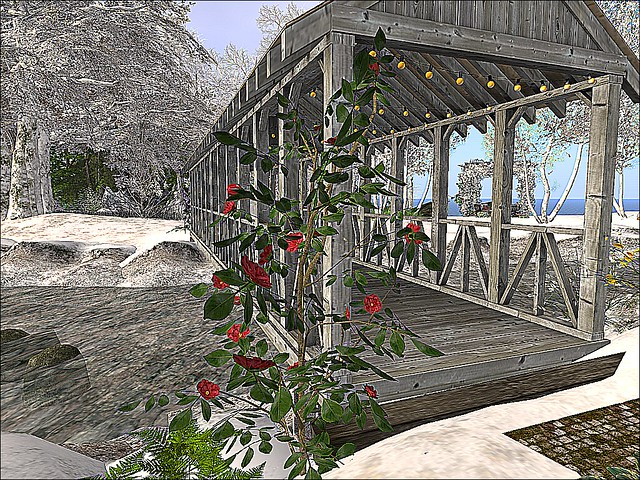 House of Prayer -Flowered Footbridge Crossing