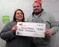 Tonya Munio - $9,000 Hot Lotto Sizzler