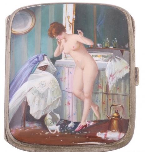最頹廢的藝術品 20世紀初期煙盒,上流人士手中的情色秘密14