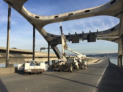 I-90 Two-Way Transit Project January 13-16, 2017 weekend work