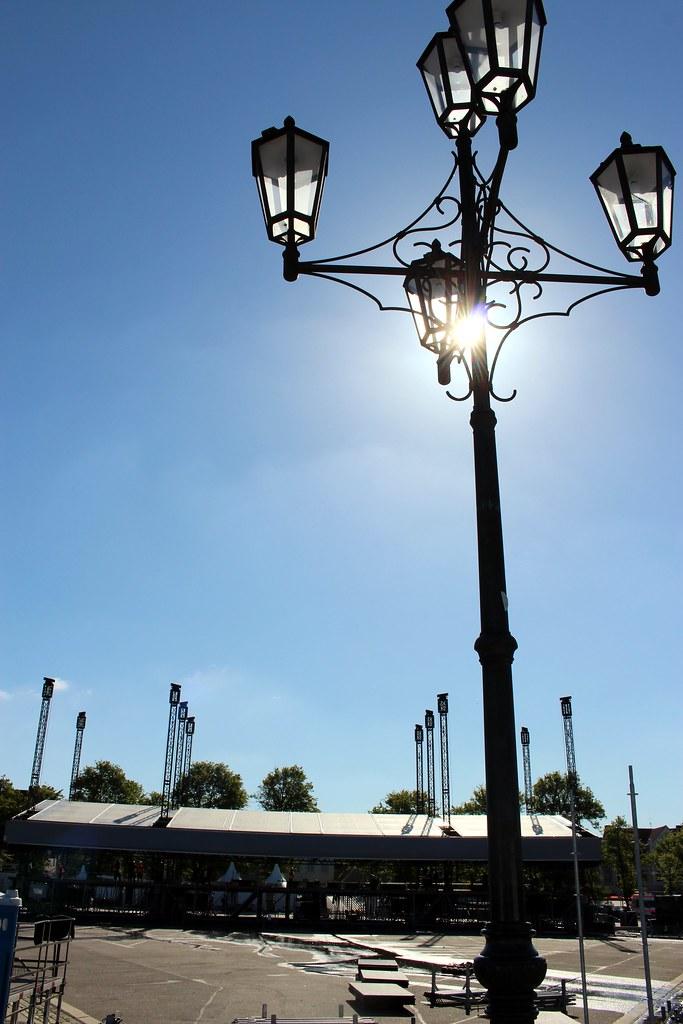 Der Marktplatz im Rampenlicht!