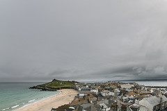 St Ives viewed from the Tate Gallery