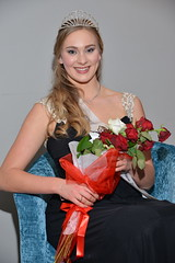 Maggie Fea, representing the Otago Irish Society after being selected as the 2015 PBT New Zealand Rose of Tralee