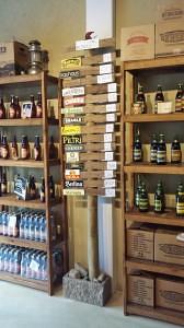 Our favorite Beer Store at the corner of cordoba and esmerelda
