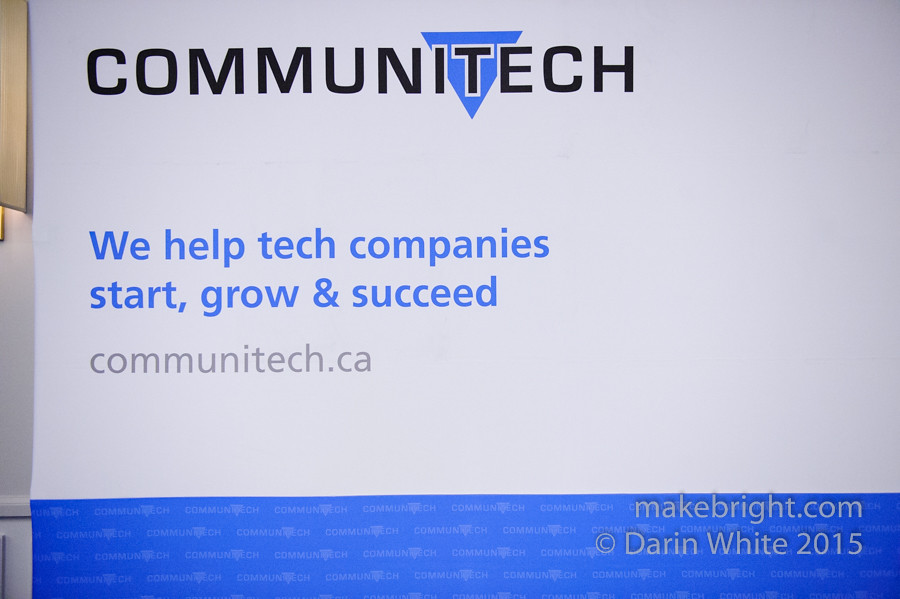 Steven Woods speaks at Women In Tech - Communitech 038