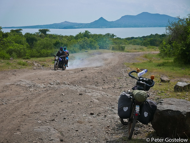 Rough road to Mbita