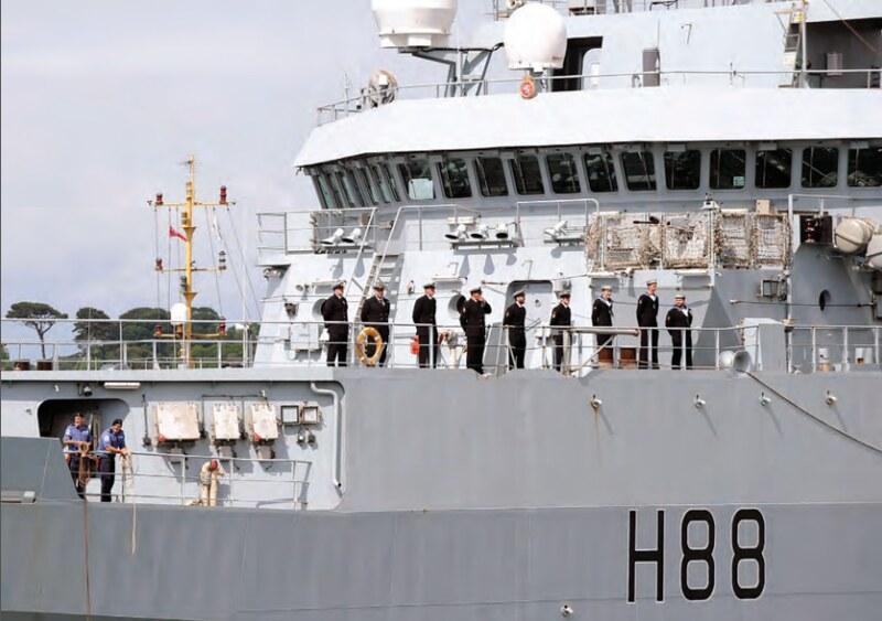 UK HMS Enterpise – Op. Sophia EUNAVFOR MED