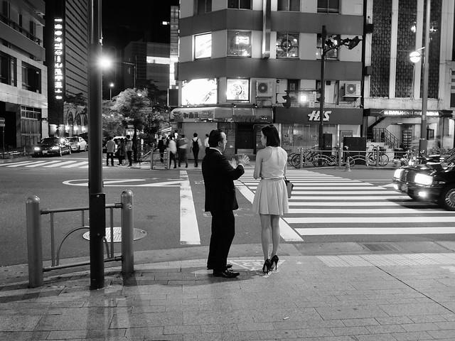 Shinbashi to Yurakucho-Ginza, Tokyo
