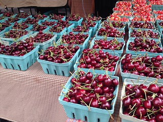 Union Square Farmer's Market: Cherries
