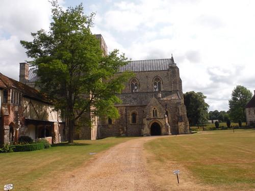 Holy Cross Hospital & Church, Courtyard