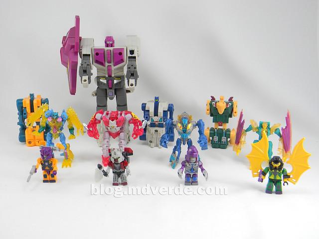 Transformers Abominus Kre-O - modo robot vs G1 vs Beast Hunters