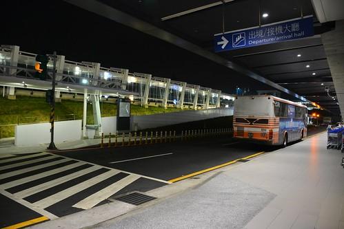 桃園機場夜景
