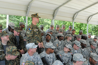 Maryland TAG visits her Guardsmen, Bosnian partners at Fort Pickett