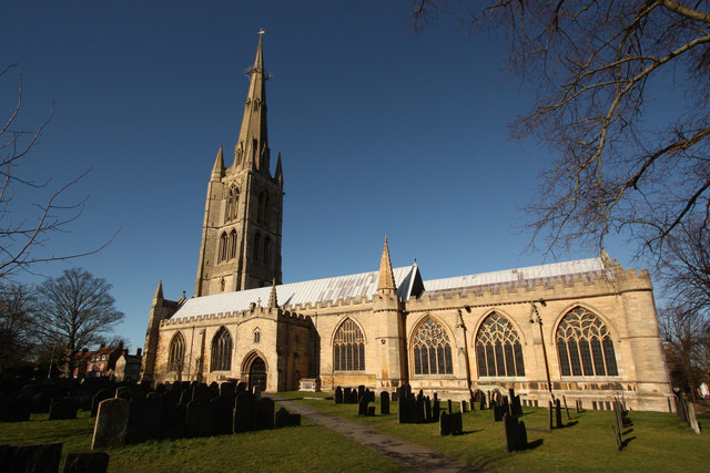 Grantham, St Wulfram's Church (c) Richard Croft