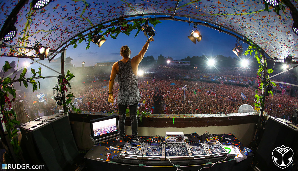 David Guetta @ The 2014 edition of Tomorrowland – Weekend I