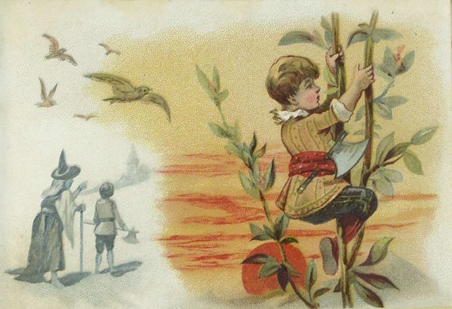 Jack and the beanstalk, 1890