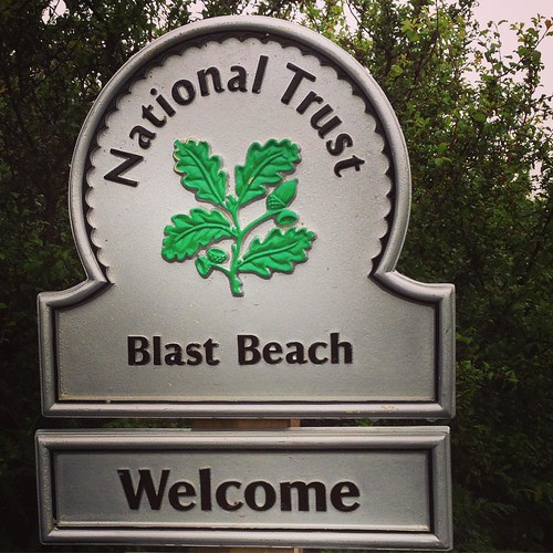 Welcome. #BlastBeach #CountyDurham #England #NationalTrust