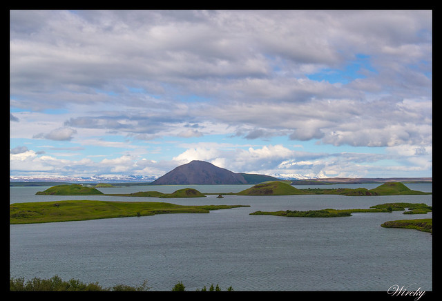 Cráteres del lago Mývatn