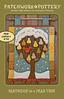 Partridge in a Pear Tree - PDF pattern 16 by PatchworkPottery